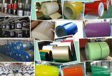 Prepainted PPGI - bobina de aço galvanizado, Pt, JIS, GB Standard, para folhas de coberturas metálicas