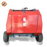 販売のための低い消費の小型円形の干し草の梱包機の梱包装置