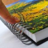 Venda por grosso Sketchbook espiral de luxo com Personalizado