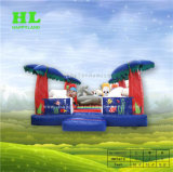 4,5X3m Palm Tree gonflable jouet Bouncer simple