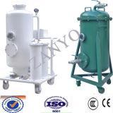 Mal de aceite del transformador equipo de regeneración, eliminar el agua, gas y partículas, decoloración