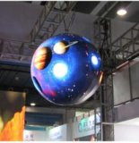 P7.62 Grau 360 cores interiores Display LED redondos