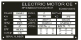 Moteur électrique d'induction triphasée à C.A. de fer de bas-de-ligne Y2/Ye2