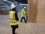 전람 센터, 경기장 및 체육관을%s 움직일 수 있는 칸막이벽