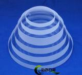 Het Substraat van het Glas van het kwarts, de Cirkel van het Kristal van het Kwarts, de Lens van het Kwarts