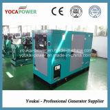 комплект генератора молчком двигателя силы 40kw/50kVA электрического тепловозный
