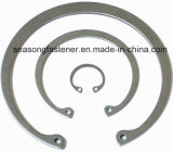 Anel interno de aço inoxidável / Anel Elástico (DIN472)
