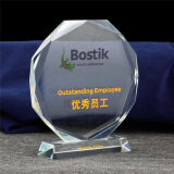 Atacado Facet Crystal Blank Medal Trophy Awards para Souvenir Gifts