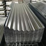 En carton ondulé en acier galvanisé DX51d tôle de toit SGS Fournisseur