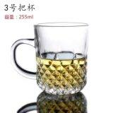 Taza de cristal del partido promocional con la cristalería Sdy-J0096 de la maneta