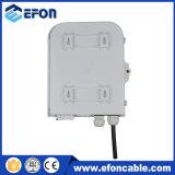 Boîte de distorsion à fibre optique FTTH imperméable à l'eau 8 Boîte à diviser le port avec connecteur Sc / APC