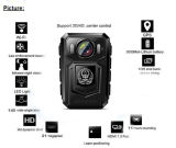 HD 1080P Polizei-videokarosserie getragene Kamera wahlweise freigestellt mit 3G 4G GPS WiFi