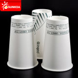 PLA Lined/Coated Paper Coffee Cup con Logo