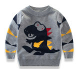 Commerce de gros de l'usure d'enfants personnalisé Boy's pullover avec Jacquard