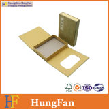 Rectángulo de papel de empaquetado del regalo plegable memorable de lujo de los regalos