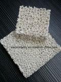 O filtro de espuma de cerâmica de alumina para o metal fundido