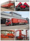 SGSが付いている広く利用されたレール敷の容器のガントリークレーン