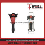 Thrall 49.7cc à la main de l'essence avec une forte cisel Jack marteau
