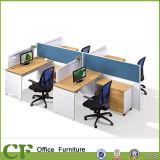 Перегородка офиса мебели полной панели деревянная с деревянным подвижным шкафом