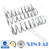 Molle di compressione d'acciaio coniate a freddo su ordinazione industriali