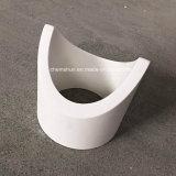 L'abitudine ha costruito il tubo di ceramica dell'allumina allineato