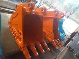 Usinagem Construção Bulldozer escavadeira agarrar a caçamba para Shantui Atlas Liebherr Partes