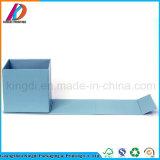 磁気ふたが付いているカスタム淡いブルーのボール紙のギフトの包装ボックス
