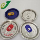 Las tapas de latas de aluminio para el café, refrescos, bebidas