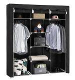 현대 간단한 옷장 가구 직물 접히는 피복 병동 저장 회의 특대 증강 조합 간단한 옷장 (FW-35B)