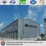 Edificio modular prefabricado de la estructura de acero del bajo costo en philippine