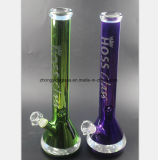 Gelbes, purpurrotes, grünes, rotes Glasrohr 17.7 Zoll-Glasgefäß