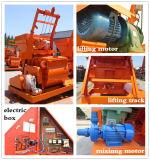 Prezzo della macchina concreta della costruzione del miscelatore gemellare dell'asta cilindrica da vendere