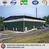 Gruppo di lavoro prefabbricato personalizzato della fabbrica della struttura d'acciaio della qualità superiore