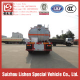 三Axle 30000L Stainless Steel Fuel Tanker Chemical Liquid Sulphurous Acid Semi Trailer Truck