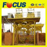 Tipo planta de tratamento por lotes concreta Hzs25 do funil do elevador da alta qualidade