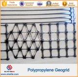 El PP de geomalla Biaxial pendiente de geomalla