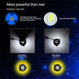 2 anos de bulbo brilhante super do farol do diodo emissor de luz da ESPIGA S2 da garantia 8000lm