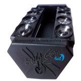 Indicatore luminoso capo mobile del ragno della strumentazione 8*10W LED del DJ