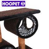 Moderner Zebra Pattern Cat Scratcher mit Swing Toy