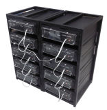 Блок батарей шкафа лития LiFePO4 телекоммуникаций 48V 50ah 100ah