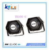 Hoher Intensitäts-, wasserdichter, feuchtigkeitsbeständiger und rostfreierWarnig Systems-Lautsprecher Yh100-6
