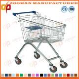 車輪(Zht189)のワイヤー金属の記憶装置の食料品の買い物のトロリーカート