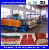 PVC二重カラー車およびフィートのマットまたはカーペットのプラスチック生産ライン