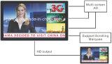 21.5 pouces Dttb 3G et 4G annonçant le moniteur multimédia