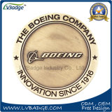 Aleación de zinc personalizado de la Moneda de la Asociación de recuerdos con Boeing