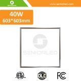 Luz del panel plana cuadrada de la lámpara LED del techo 60W