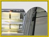 Automatische die Marmorkarosserien-Bäckerei entfrosten Gebäck-Kühlraum-Schaukasten