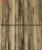 Papel impregnado melamina de madera decorativa de la laminación de la película del grano para los muebles