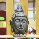 Godsdienstige Ambacht die Decoratie van de Tuin van het Beeldje van Boedha de Hoofd snijden
