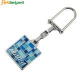 Marchio poco costoso su ordinazione Keychain del metallo